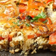 garden vegetable bake | vegetable ideas | Pinterest