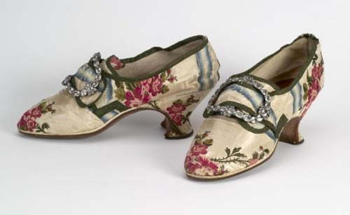 Shoes, 1760-70, Bata Shoe Museum