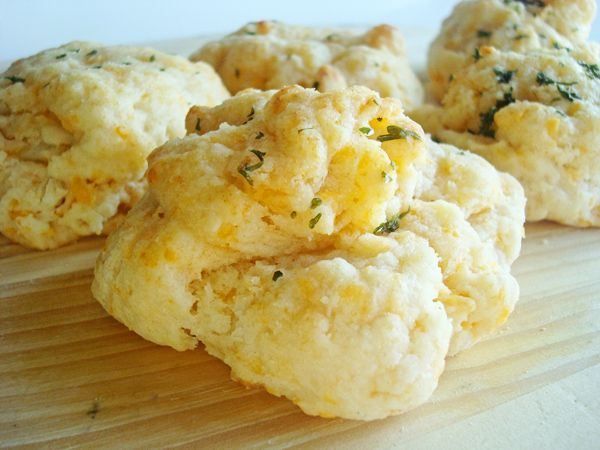 Mel's Kitchen Cafe | Cheddar and Herb Biscuits
