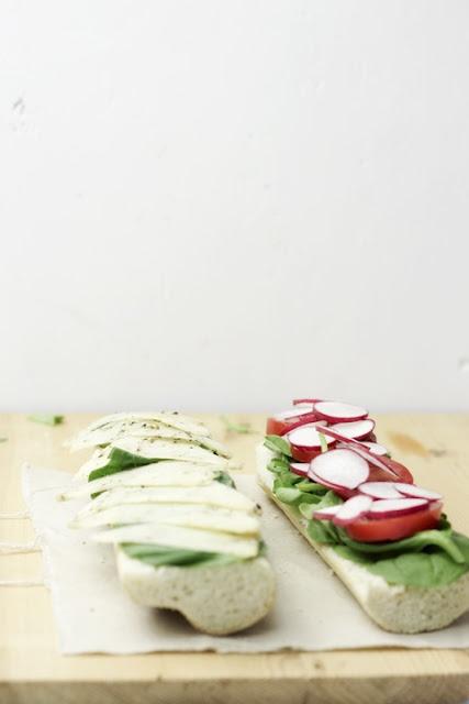 farmer's market sandwich. | Let's Nosh | Pinterest