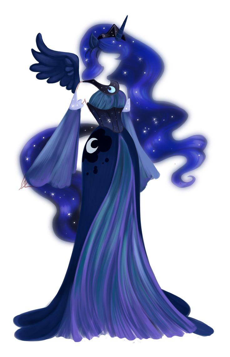 Luna My Little Pony Gorgeous Idea My Little Pony Pinterest