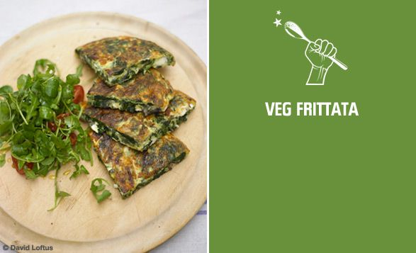 ... Revolution | SPINACH RED ONION AND FETA FRITTATA | Jamie Oliver (US