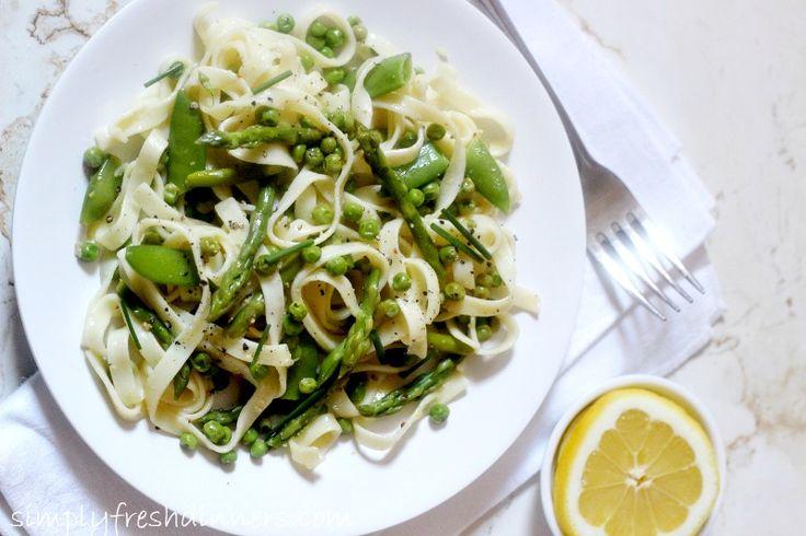 Spring Vegetable Pasta | Easter/Spring Holiday | Pinterest