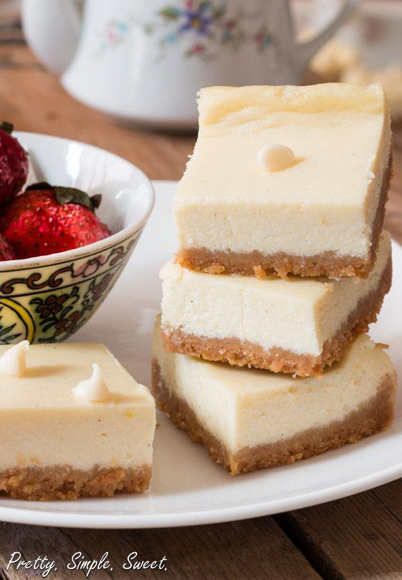 Lemon White Chocolate Cheesecake | Recipe