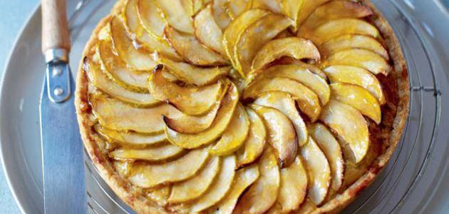 Easy apple tart Recipe | sainsbury's | Food | Pinterest