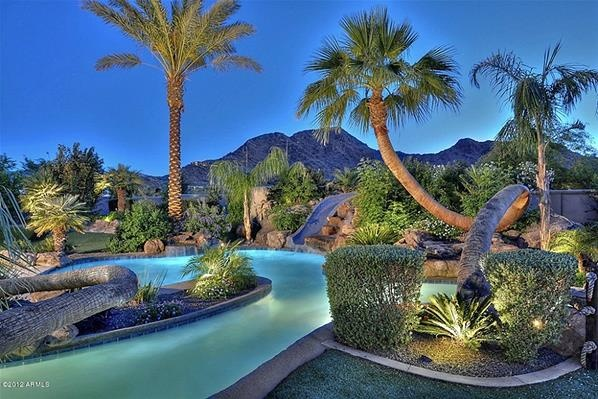 Backyard Lazy River Hgtv : Scape Idea outdoor Arizona backyard landscaping pictures 95 highway