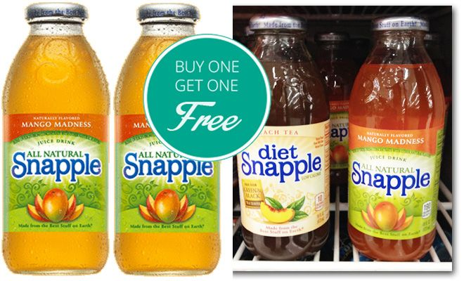 Snapple coupons june 2018