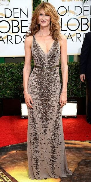 2014 Golden Globes Best Dressed- Laura Dern