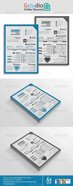 Resume Folder Resume Portfolio Folder Amazoncom - Slimandhappy.net