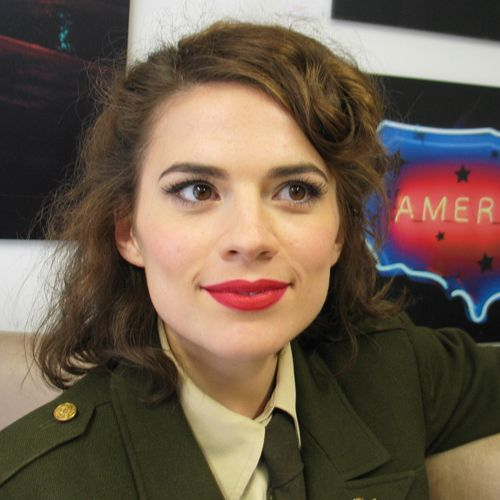 Hayley Atwell Peggy Carter Makeup Hayley atwell peggy carterHayley Atwell Peggy Carter