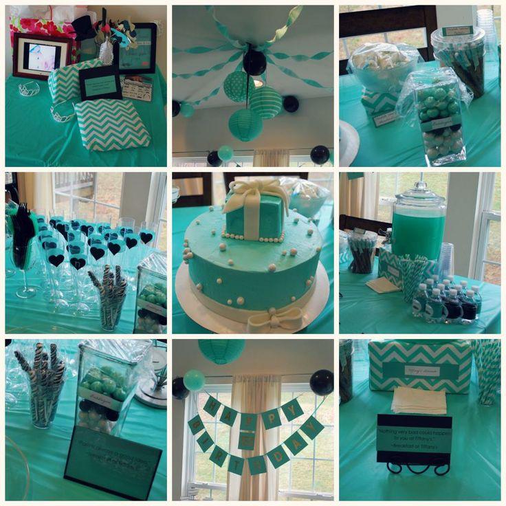 Tiffany And Co Birthday Party Tiffany Party Pinterest