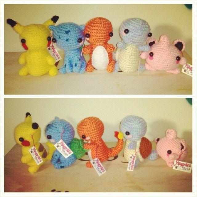 Pokemon crochet amigurumi toys i love crochet pinterest