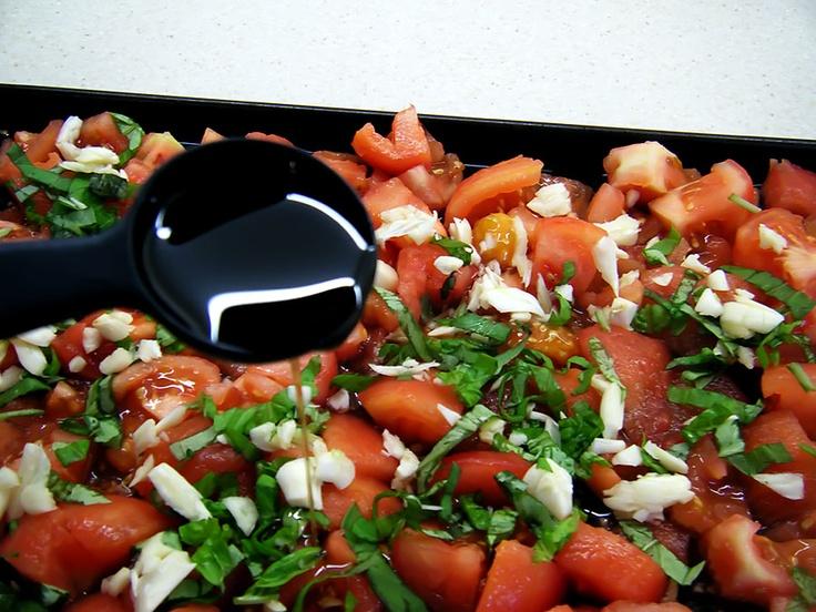 Slow roasted tomatoe sauce | Vegetables | Pinterest