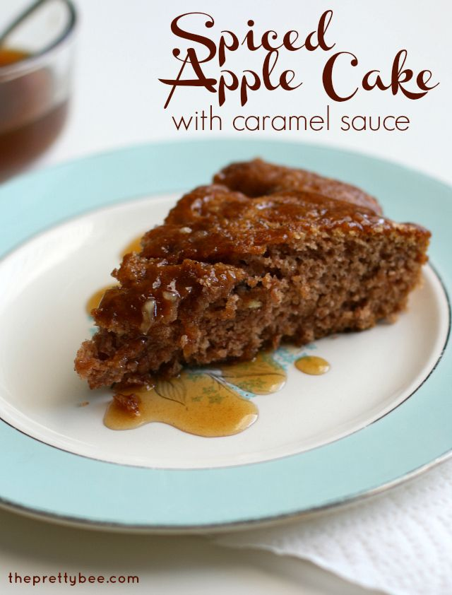cake spiced apple cider spiced apple cake with eggnog sauce recipe