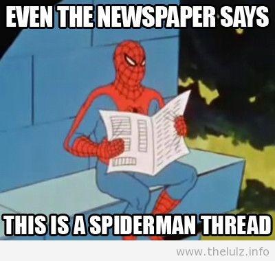 Did someone say spiderman thread - photo#6