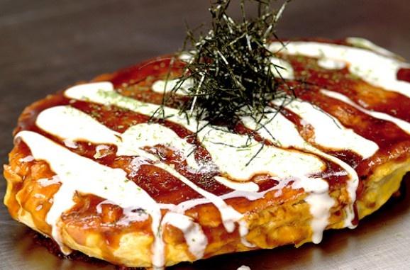 Okonomiyaki / Japanese pizza | Asian | Pinterest