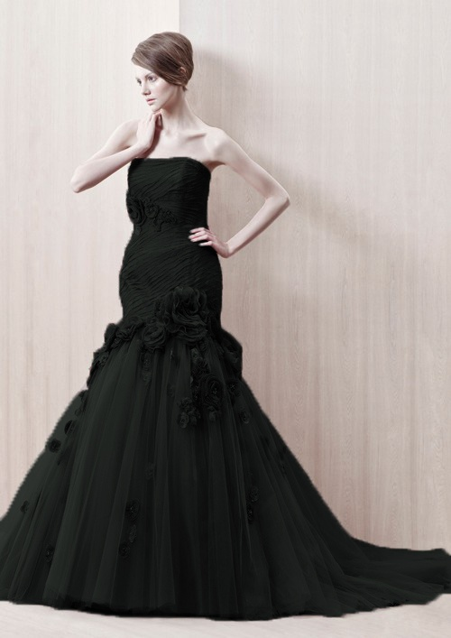 Black Wedding Dress When Wedding Bells Ring Pinterest