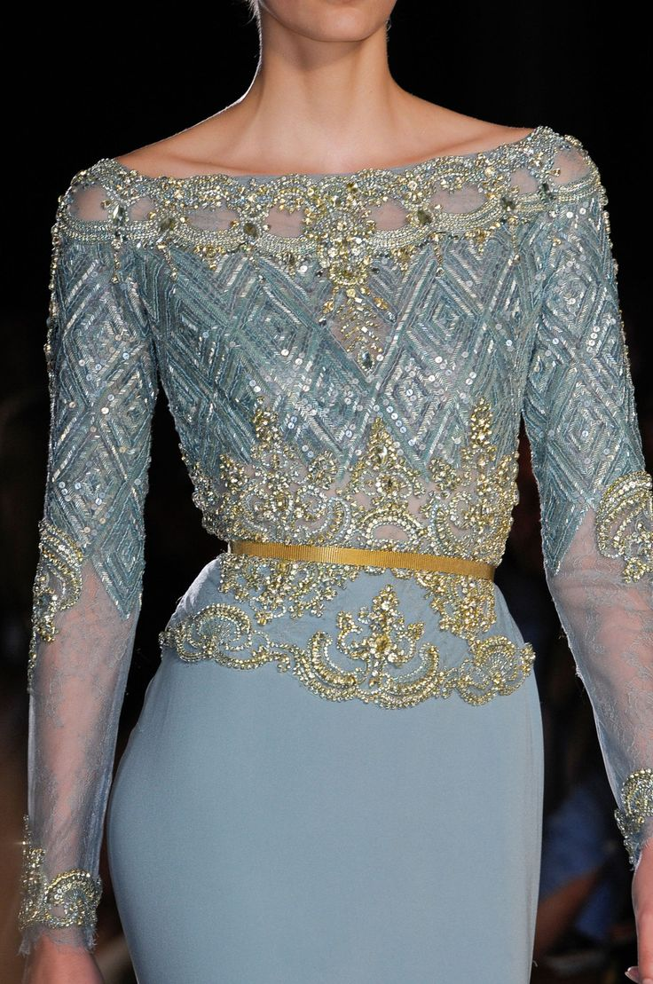 really gorgeous! Elie Saab, Fall 2012
