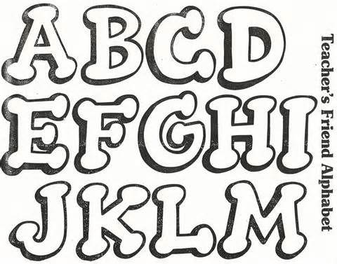Diseños de letras para carteleras de cumpleaños - Imagui