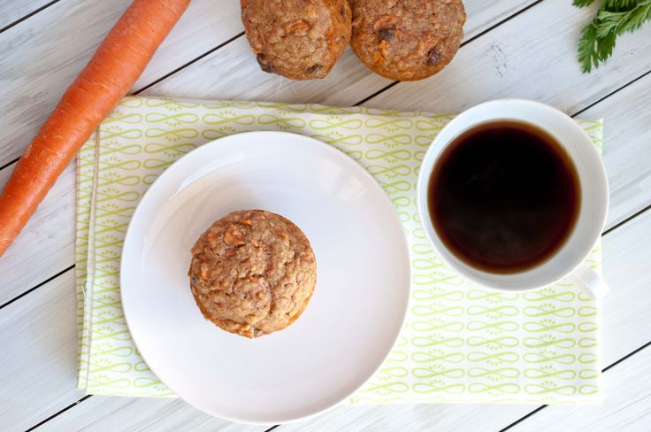 Quinoa Carrot Cake Breakfast Muffins | Recipe