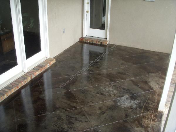 Black Stained Concrete Google Search Home Sweet Home Pinterest