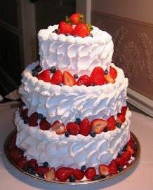 Cleveland Strawberry Cassata Cake Recipe