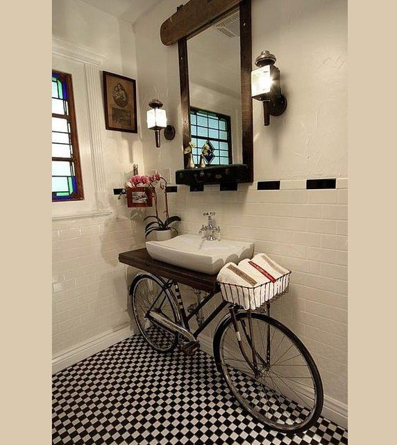 Sensational idea: A bike in my bath by Bem Legaus