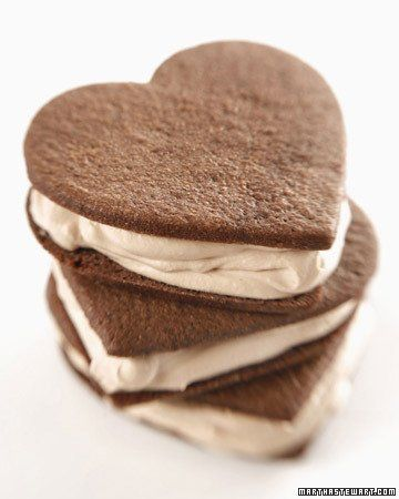 Spicy Chocolate Sandwich Cookies Recipe + Heart Shaped Cookie ...