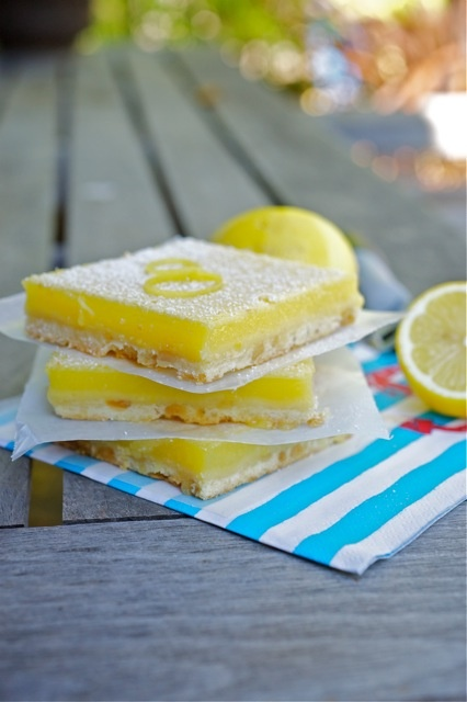 Tartine Bakery's Lemon Bars | Bakery | Pinterest
