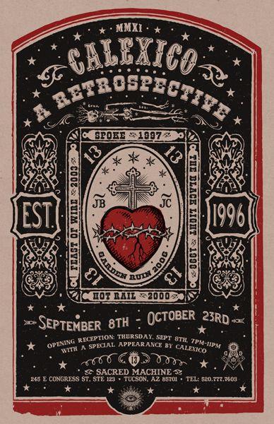 chest: sacred heart #calexico #catholic #folkart