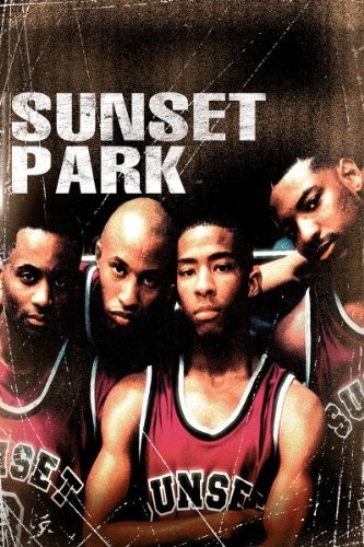 Sunset Park .  An urban basketball team fights for survival on the streets, respect on the courts and a miracle, now that their coach is a short, white woman (Rhea Pearlman).  DVD & Blu-ray