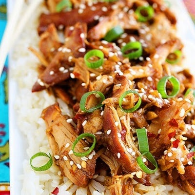 Crock Pot Honey Sesame Chicken | Slow Cooker | Pinterest
