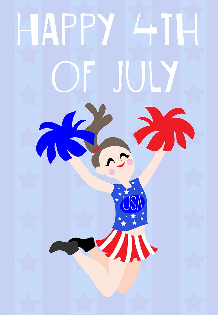 free fourth of july birthday cards