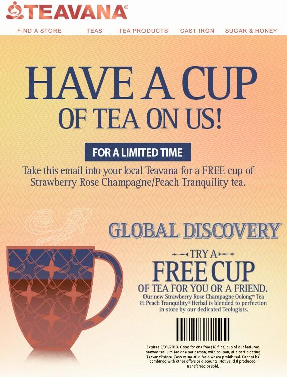 Rishi tea discount coupons