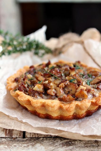 mushroom tart | recipes. | Pinterest