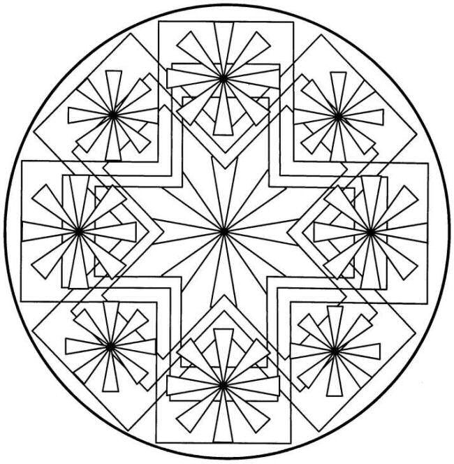 Radial Symmetry Computer Crafts Pinterest