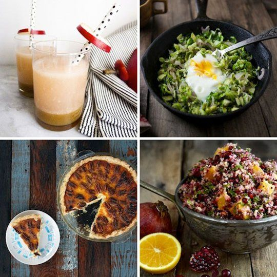 ... Pear Cocktail & Brussels Sprouts and Egg Skillet — Delicious Links