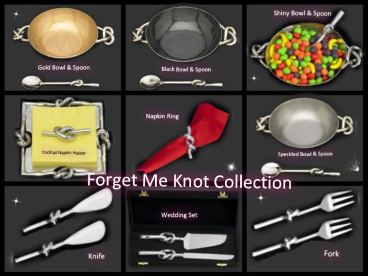 love knot collection | TINA C AT HOME | Pinterest