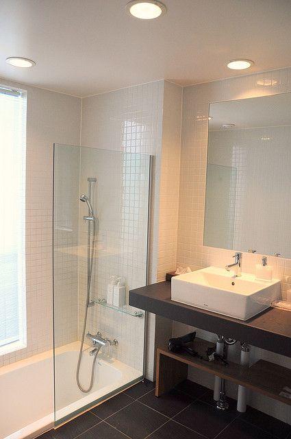 Fantastic Master Bathroom Vanity And Floating Mirror  Method Design