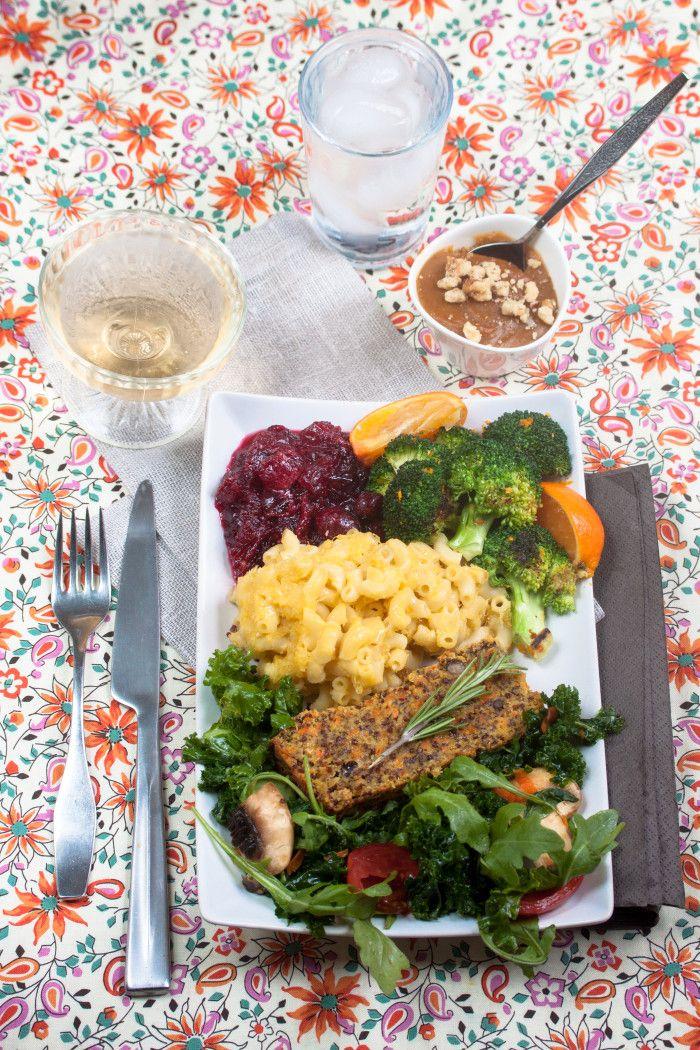 ... Cardamom Orange Broccoli, Spiked Cranberry Sauce,Garlicky Green Salad
