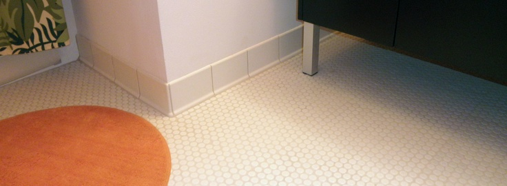 Tile Edging Small Bathroom Ideas Pinterest