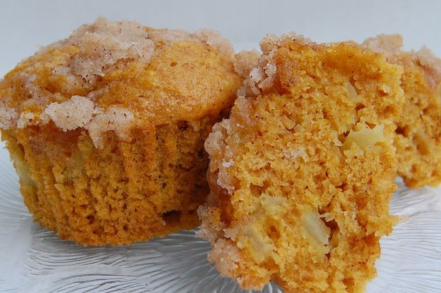 Fall's Finest Muffins - Pumpkin with streusel topping