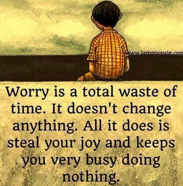 Don't worry Inspiring quotes Pinterest
