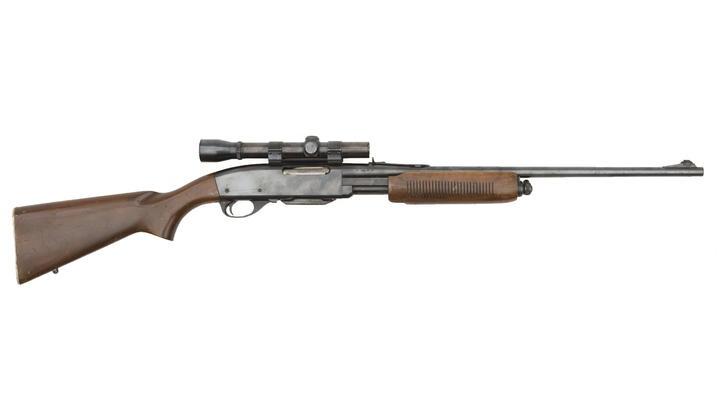 Remington 760 Gamemaster Pump Action Rifle w/ Scope, 308 ...