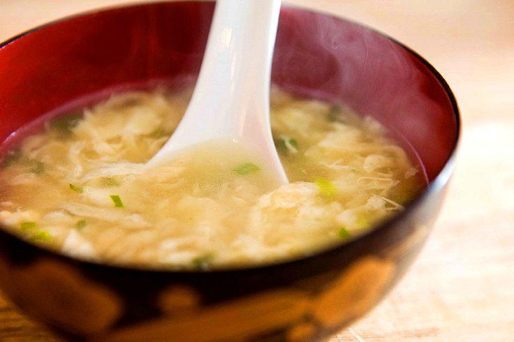 Restaurant Style Egg Drop Soup Recipe — Dishmaps