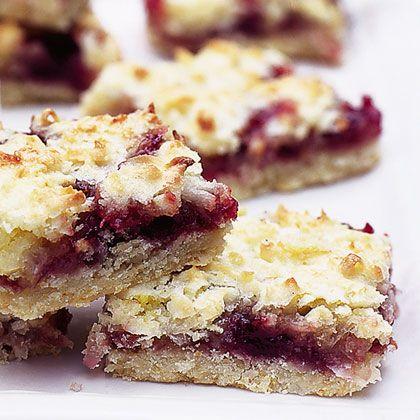 Raspberry Crumb Squares Recipe | Spoonful