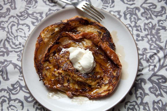 Croissant French Toast for a special morning