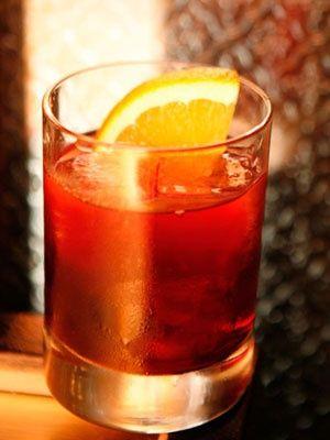 The Boulevardier - Bourbon Drink Recipes - Cosmopolitan