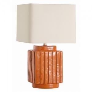 Artesia Burnt Orange Terra Cotta Lamp Orange Crush Home Decor And F