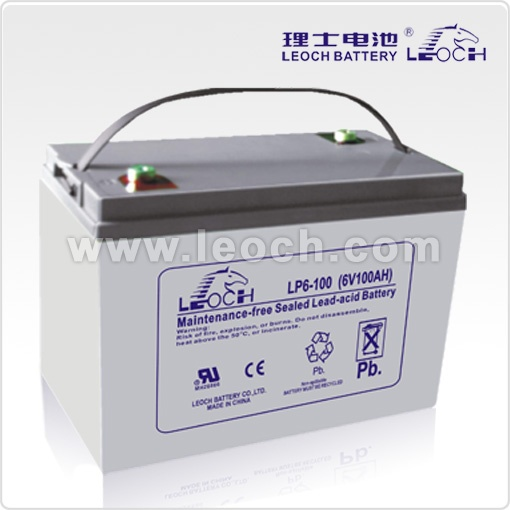 it's a type of lead acid battery from leoch battery - deep cycle battery